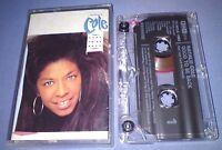 NATALIE COLE GOOD TO BE BACK cassette tape album T509