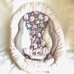 Bright Starts Comfort and Harmony Bouncer Replacement Seat Pad Sweet Tweets