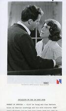 SIAN BARBARA ALLEN CLIFF DE YOUNG THE LINDBERGH KIDNAPPING CASE '76 NBC TV PHOTO