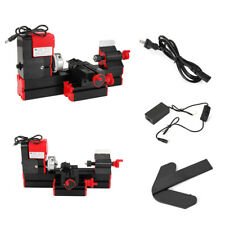 12v/220v 3a 36w Mini Lathe Milling Machine Bench Drill Wood Engraving Power Tool