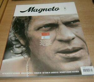 Magneto magazine #9 Spring 2021 McQueen & Le Mans, Donald Campbell, Jag V12 &