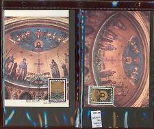 STAMPS 2 CARD MAXIMUN VATICAN CITY POPE (L7292)