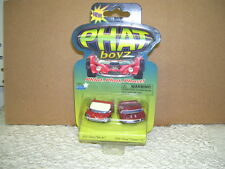 PHAT BOYZ CARS 1957 CHEVY BEL AIR & 1969 CHEVY CAMERO SS NIP