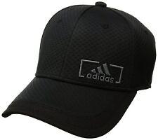 272da7566e2b5 adidas Amplifier Stretch Fit Baseball Cap Black onix L xl