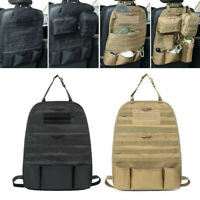 Seat Cover Tactical Molle Organizer Car Seat Cover Back Holder Pouch Bags Useful
