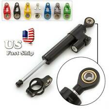 FXCNC Steering Damper Motorcycle Stabilizer Linear Reversed Safe Control US