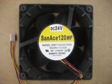 SANYO 9WF1224H1D03 12038 120 x 38mm Fan 24V 3Pin  0.32A  809
