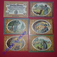 6 x Top Notgeld Stadtlengsfeld , alle 6 komplett kfr.unc , emergency money