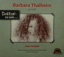 CD BARBARA THALHEIM / JEAN PACALET - live, alemán para estar