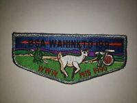 Boy Scout OA 199 Wahinkto Lodge 75th Anniversary 1990 Flap