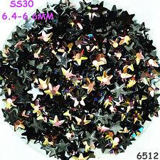 400pcs SS30 Non Hotfix Crystal Resin Rhinestone Special Shaped Stone Loose Beads