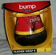Sensationnel Feather Wrap 8 Goddess Bump Remi Color #2 NIB 100% Human Hair
