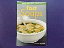 | @Oz | FAMILY CIRCLE MINI COOKBOOK : Fast Soups, Recipes