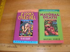 Ruthe Furie lot of 2 SIGNED 1st Edition 1st Print PaperBacks Mint Condition
