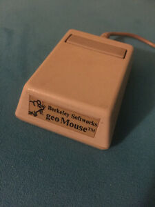 Berkeley Softworks GeoMouse for Apple II — mouse, GEOS, GeoWorks