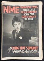 NME 10 March 1984 Paul Weller Cover Thomson Twins Alexei Sayle John Cale Dr John
