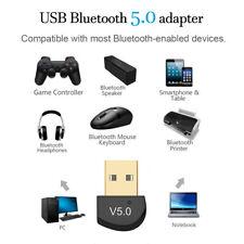 Wireless Audio Converter USB Bluetooth 5.0 Adapter Dongle Receiver Transmitter