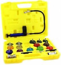 Auto Radiator Cap Pressure Testing Too Tester Kit Set