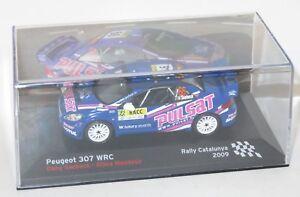 1/43 Peugeot 307 WRC  pulsar  Rally Catalunya Spain 2009  D.Snobeck