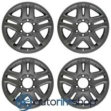 Toyota Sequoia Tundra 2003 2004 2005 2006 2007 17 Oem Wheel Rim Set Charcoal Fits 2004 Toyota Tundra