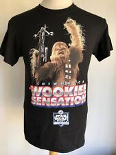 "LA DODGERS x STAR WARS (2016) Chewbacca ""Wookie Sensation"" SGA T-Shirt Small"