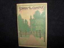 1931 Vintage SONGS of the CAMPUS Edited By Kenneth Clark~Paperback Music Book