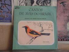 CANTOS DE AVES DO BRASIL, JOHAN DALGAS FRISCH - BRAZIL LP SCLP 10502