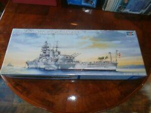 2011 Trumpeter Plastic 1/350 Scale Model Kit Italian Navy Battleship RN Roma