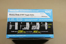 Toggler  SnapToggle BA  3/16  Heavy Duty Strap Toggle Bolts  100  24013 or 25013