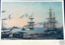 "John Stobart - SAN PEDRO. The Bark ""Vidette"" SIGNED"