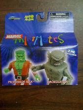 Marvel MINIMATES Professor Hulk & Abomination 2 Pack  NEW Free Ship US