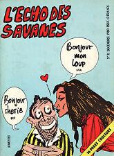 L'Echo des Savanes N°71 - Eds. Du Fromage -  Décembre 1980