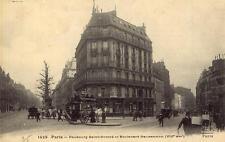 PARIS Faubourg Saint-Honoré et Boulevard Haussemann