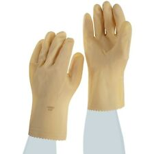 ANSELL 88-392-10 SIZE 10 CANNERS GLOVES - NATURAL RUBBER LATEX - NEW - DOZ. PAIR