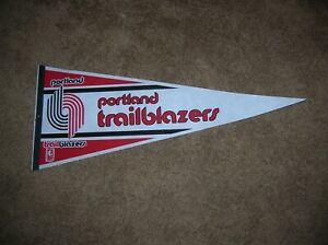 Portland Trailblazers 1990 full size pennant