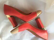 Fantastic shoes MARELLA Woman, coral color, size 37  Scarpe meravigliose corallo