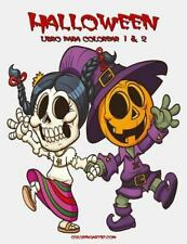 Halloween: Halloween Libro para Colorear 1 And 2 by Nick Snels (2016,...