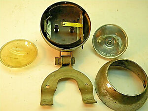 Vintage Bicycle Light, Works fine, Battery Powered. Classic Bike Headlight,