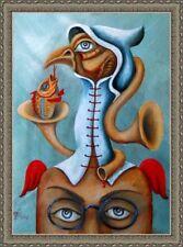 Original Painting OIL Fine Art by Pronkin 2018 surrealism CAMBODIAN DREAMS 2