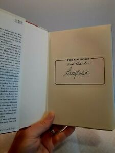 """Betty White signed book plate """"Here We Go Again"""" autographed by Betty White"""