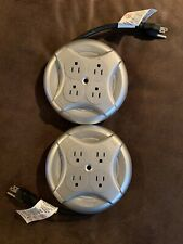 Two Five-foot Round-Style Extension Cords