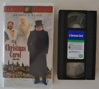 VHS Christmas Movie - A Christmas Carol ( 1995) Clamshell Case