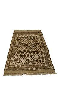 Vintage Afghan Rug, Turkish Rug, Turkoman Rug, Hand Knotted Sheraz Rug.