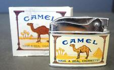 1960s Vintage Penguin Co. Camel Lighter With Original Box