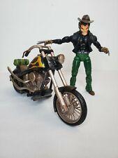 "MARVEL LEGENDS WOLVERINE Old Man LOGAN MOTORCYCLE TOYBIZ 6"" Legendary Riders"