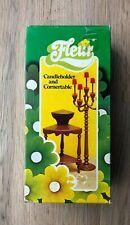 Fleur, Candleholder & Cornertable, Vintage, Otto Simon, 70's