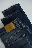 RRP €179 NUDIE GRIM TIM FOGGY DUST Men's W30/L32 Blue Stretch Jeans 4903_mm