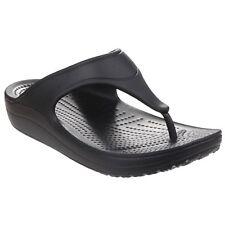 Crocs Sloane Platform Flip Black Thongs for Women Sizes W5 7 8 Only US W8