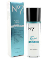 Boots No7 Protect & and Perfect Intense ADVANCED Serum Pump 30ml New Boxed