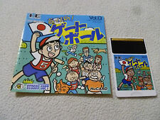 JAPAN IMPORT PC ENGINE HU CARD GAME APPARE GATEBALL VOL 13 W MANUAL HE SYSTEMS